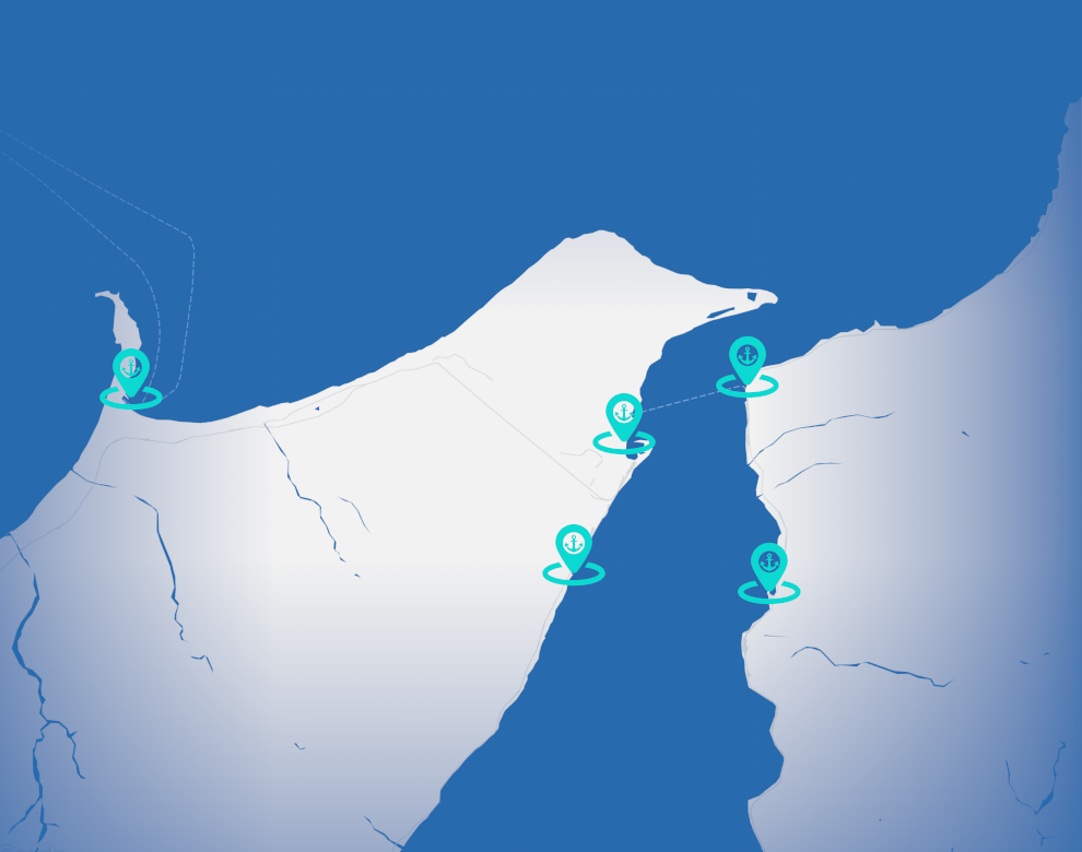 immagine mappa stretto